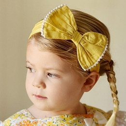 Ren & Rouge  Lemon Bow Headband