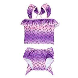 Planet Sea Mermaid Tail 2pc Tankini Swimsuit