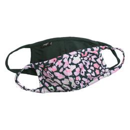 Imoga       Hope Jersey Face Masks w/Filter Pockets - 2 Pack Set! - Safari & Emerald