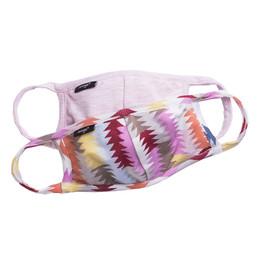 Imoga       Hope Jersey Face Masks w/Filter Pockets - 2 Pack Set! - Santa Fe & Puff