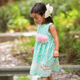 Haute Baby    Dainty Dots Dress