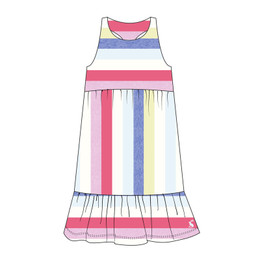 Joules Juno Knit Dress - Multi Stripes