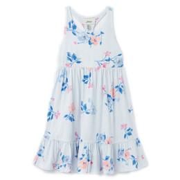 Joules Juno Knit Dress - White Floral Stripe