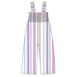 Joules Shannon Knit Romper - Multi Stripe