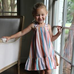 Pink Chicken    Emma Dress - Multi Stripe