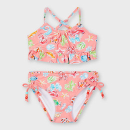 Mayoral     Mermaid Under The Sea 2pc Swimsuit - Flamingo Pink