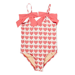 Pink Chicken     Lulu 1pc Swimsuit - Rapture Rose Hearts