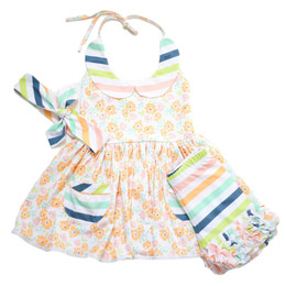 Be Girl Clothing           Playtime Favorites Sunshine 3pc Tunic Set - Sherbert Petals