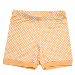 Be Girl Clothing           Playtime Favorites Cartwheel Shorties - Sherbert Dot