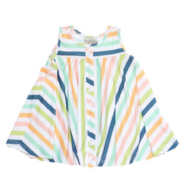 Be Girl Clothing        Playtime Favorites Trapeze Tunic - Whimsy Stripes