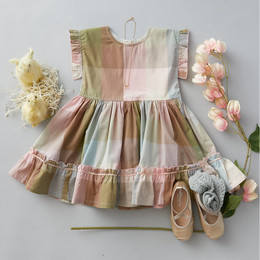 Pink Chicken      Easter Niley Dress - Multi Gingham