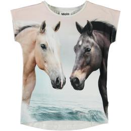 Molo       Ragnhilde Organic Tee - Horse Friends