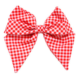 Be Girl Clothing            Sweet Summertime Classic Bow - Red Gingham