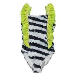 Molo      Nathalie 1pc Faux Sequin Swimsuit - Zebra Fish