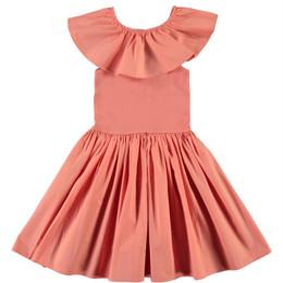Molo        Christal Organic Woven Dress - Burnt Coral