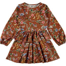 Molo        Christabelle Organic Knit Dress - Wildflowers