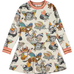 Molo        Conny Organic Knit Dress - Hedgerow Buzz
