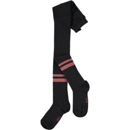 Molo        Sporty Rib Tights - Black Stripe