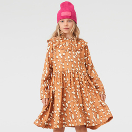 Molo        Coco Woven Dress - Graphic Deer