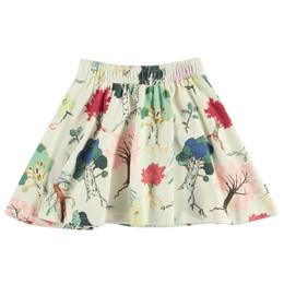 Molo        Barbera Organic Knit Skirt - Forest Friends