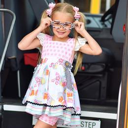Be Girl Clothing           Back To School Larkin 2pc Dress & Short Set