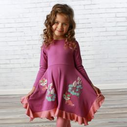 Lemon Loves Lime     Fox Hide & Seek Dress - Striking Purple