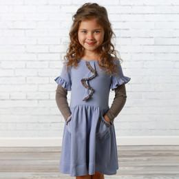 Lemon Loves Lime     Lucy Pocket Dress - Persian Violet