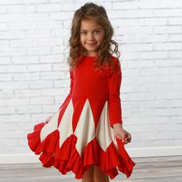 Lemon Loves Lime       Christmas Eve Dress - True Red