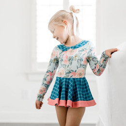 Be Girl Clothing              Twinkle Toes Twirling Buds Leotard