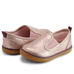 Livie & Luca     Ridge Shoes - Rose Metallic (Fall 2021)