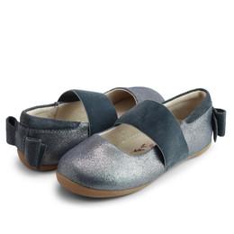 Livie & Luca     Aria Shoes - Dark Pewter Shimmer (Fall 2021) **PRE-ORDER**