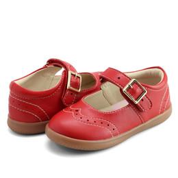 Livie & Luca     Libra Shoes - Red (Fall 2021) **PRE-ORDER**