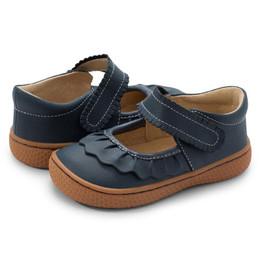 Livie & Luca     Ruche Shoes - Navy (Fall 2021) **PRE-ORDER**