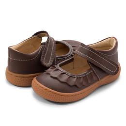 Livie & Luca     Ruche Shoes - Mocha (Fall 2021) **PRE-ORDER**