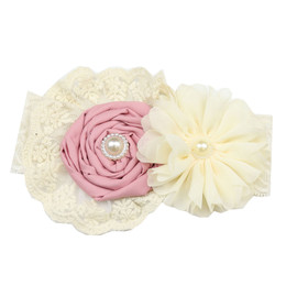 Frilly Frocks     Rose Lace Headband **PRE-ORDER**
