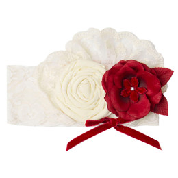 Frilly Frocks    Noella Lace Headband **PRE-ORDER**
