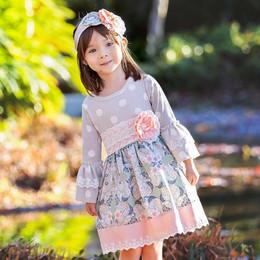 Haute Baby     Polka Dreams Dress **PRE-ORDER**