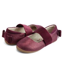 Livie & Luca     Aria Shoes - Burgundy Shimmer (Fall 2021) **PRE-ORDER**