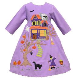 Cotton Kids   Haunted House Corduroy Dress