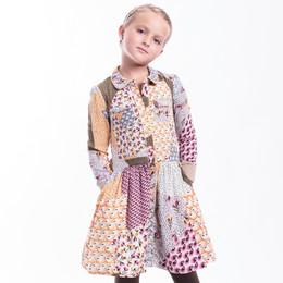 Imoga        Rebecca Printed Woven Dress - Autumn