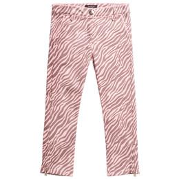 Imoga        Irene Printed Denim Pants - Kenya Pink **PRE-ORDER**