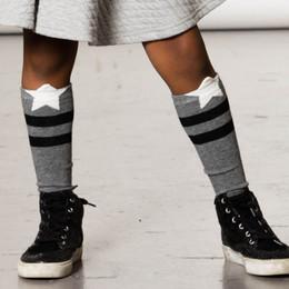 Deux Par Deux      A Star Is Born Star Striped Knee Socks
