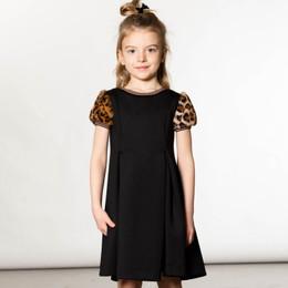 Deux Par Deux      Chic Leopard Milano Dress w/Faux Fur Sleeves **PRE-ORDER**
