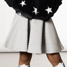 Deux Par Deux      A Star Is Born Quilted Flared Skirt **PRE-ORDER**