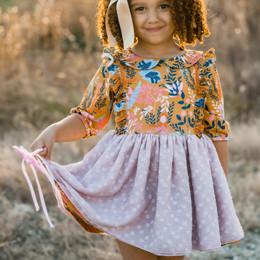 Be Girl Clothing              Harvest Moon Emilia Dress **PRE-ORDER**