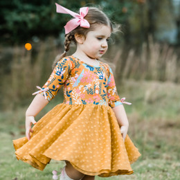 Be Girl Clothing              Harvest Moon Marley Dress **PRE-ORDER**