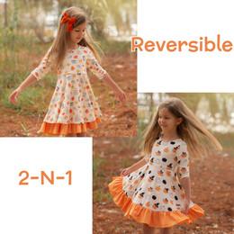 Evie's Closet         Fall Café / Halloween Reversible Knit Dress