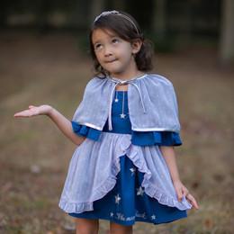 Evie's Closet         To The Moon 2pc Dress & Cape Set