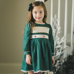 Evie's Closet         Holiday 4pc Belted Dress Set
