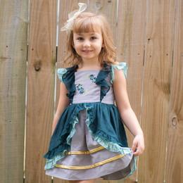 Evie's Closet         Teal Tidings Dress